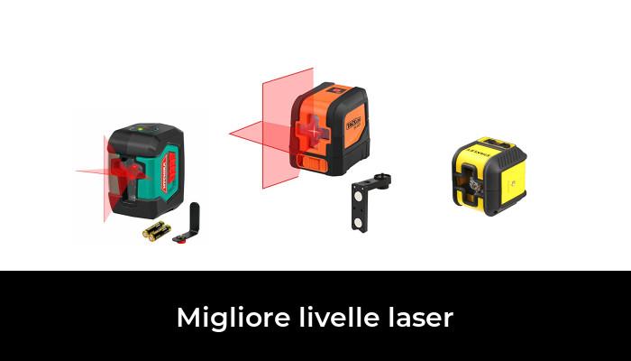 Tacklife SC L03 Livella Laser Classica a Croce con Gamma di Misurazione 30m e Funzione di Inclinazione Linea Orizzontale a 360 Gradi Linea Laser IP54 Protezione di Polvere e Spruzzo