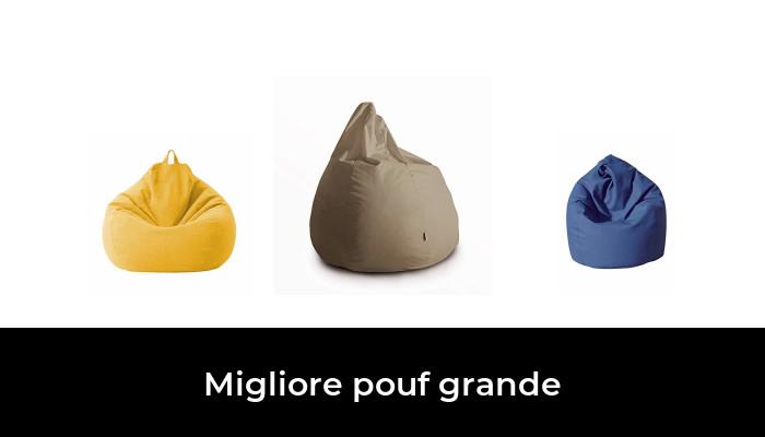 GiantBag 100 x 70 cm Pouf per interni ed esterni Lilla per bambini e adulti